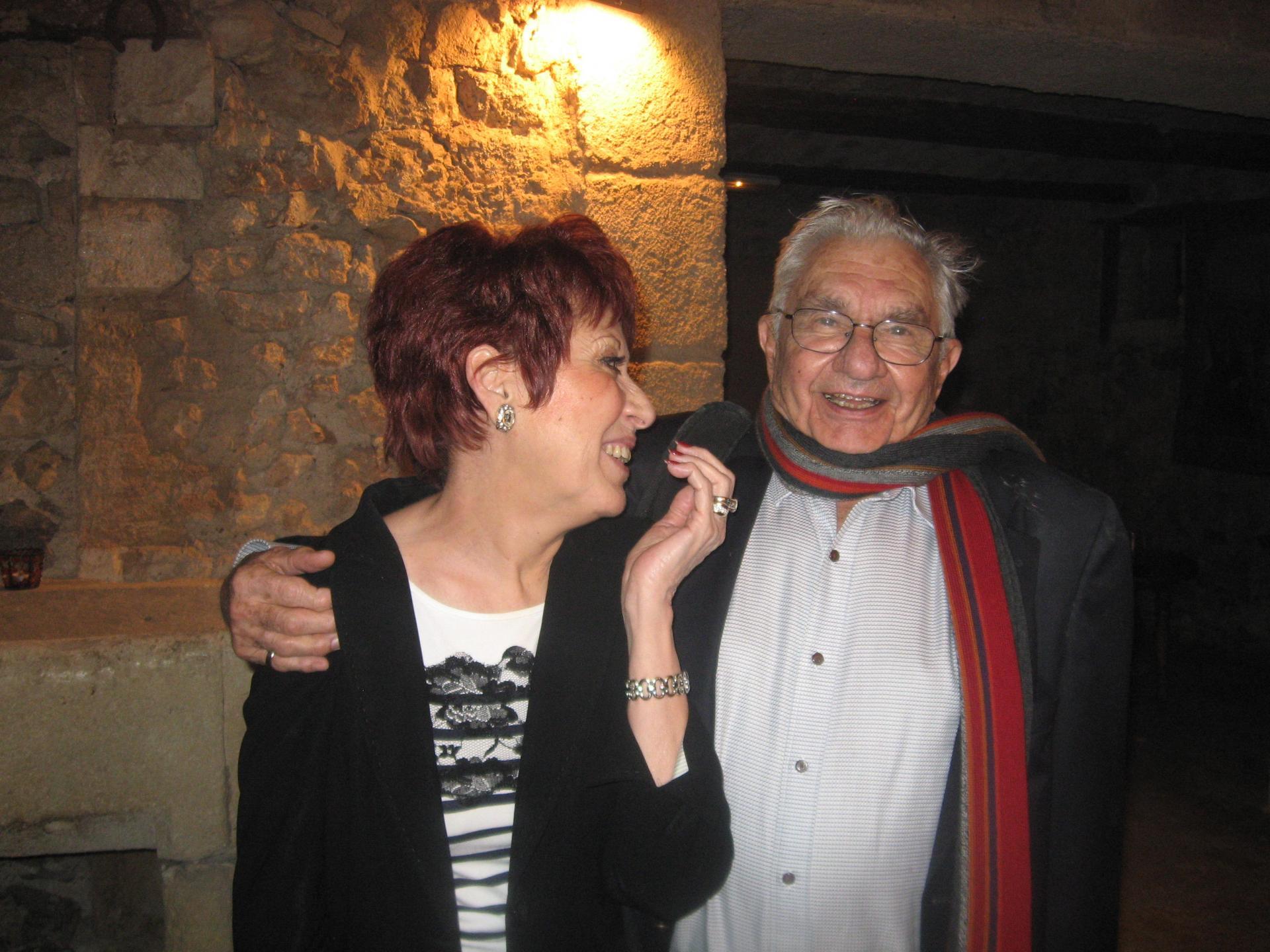 Nadine Costa et Marc Galabru