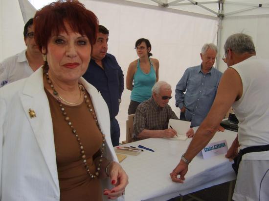 Nadine COSTA et Charles AZNAVOUR