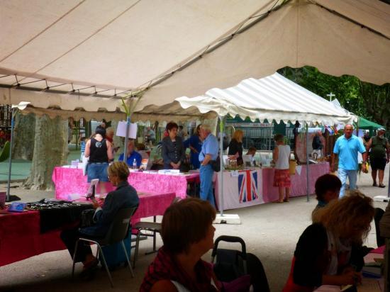 Salon du livre parc Jean Hugo juin 2014 LUNEL