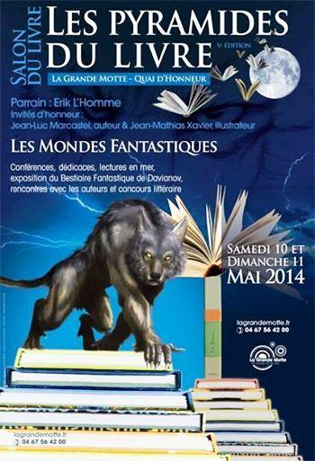 Salon du livre la grande motte 2014