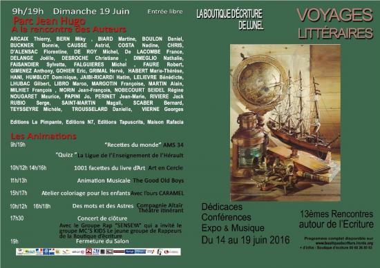 Voyages litteraires 19 juin 2016